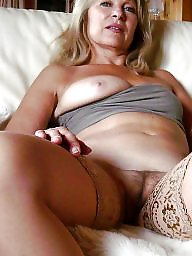 Mature stockings, Italian