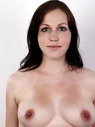 Pregnant, Casting, Tits, Brunette milf