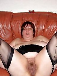 Hairy, Spreading, Spread, Bbw spreading, Bbw stockings, Hairy bbw