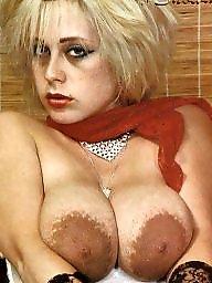 Areola, Faces, Face, Amateur big tits