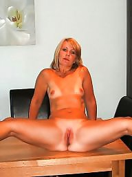 Blonde mature, Ass mature, Mature blonde, Thin, Mature blond