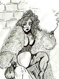 Cartoons, Fetish, Fur, Femdom cartoons