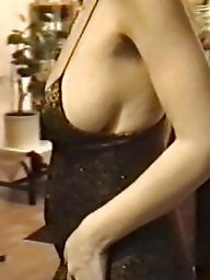 Mature tits, Dress, Dressed, Strap, Mature dressed