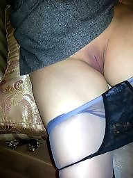 Wife, My wife, Stockings pussy, Wife ass