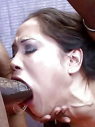 Mature interracial, Mature blowjob, Interracial mature