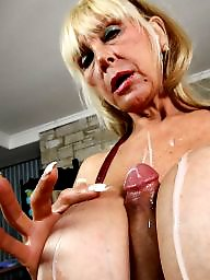 Mature, Grandma, Mature big tits, Big tits mature, Big mature, Blonde mature