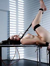 Strapon, Bondage, Female, Toying