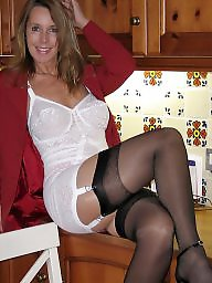 Mature lingerie, Lingerie, Mature, Mature nylon, Mature mix, Milf stocking
