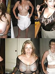 Dressed undressed, Dress, Mature dress, Dressed, Undressed, Mature tits