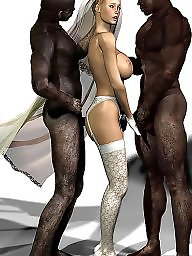 Interracial cartoon, Drawings, Interracial cartoons, Interracial, Drawing, Cartoons