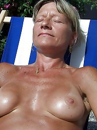 Mature beach, Sun, Mature milf, Mature love, Beach milf