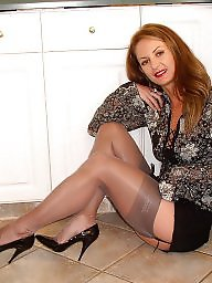 Mature, Mature stocking, Porn, Mature porn, Mature sexy, Stocking milf