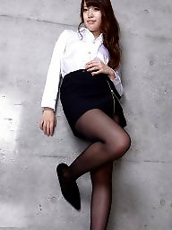 Pantyhose, Girls, Black japanese