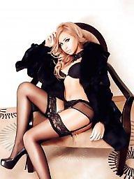 Girl, Sexy stockings, Hot milf, Woman