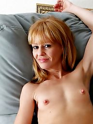 Teenie, Blonde mature, Mature tits, Blond mature