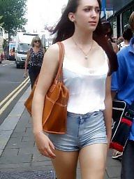 Short, Shorts, Amateur tits, Short shorts