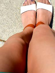 Nylon, Outdoors, Nylons, Pantyhose upskirt