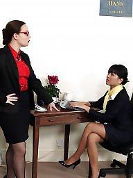 Office, Mature lesbian, Mature lesbians, Lesbian mature, Boss, Officer