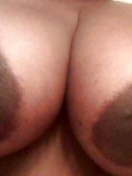 Ebony bbw, Big nipples, Areola