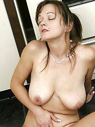 Mature brunette
