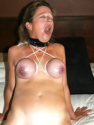 Bound, Moms, Milf mom, Amateur moms