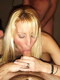 Swingers, Swinger, Blonde milf, Amateur wife
