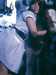Vintage, White panties, Retro, Vintage panties, Punished, Vintage bdsm