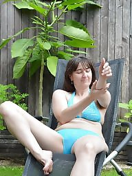 Bikini, Mature outdoor, Outdoor mature, Mature bikini, Outdoors, Amateur mature