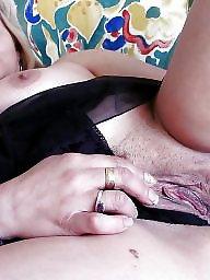 Wide, Open, Bbw pussy