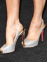 Feet, Stockings, Celebrity, Stocking feet, Celebrities