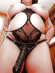 Dildo, Strap on, Bbw sex, Strap