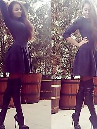 High heels, Heels, Teen stockings, Teen heels, High, Teen girls