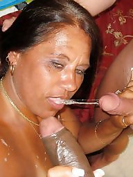 Bbc, Interracial blowjob
