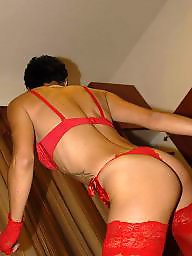 Milf stockings, Night, Milf stocking, Crazy