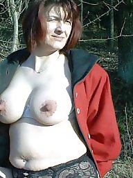 Mature boobs, Big mature, Matures, Woman, Public mature, Public boobs