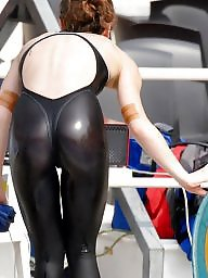Swimsuit, Leggings, One piece, Swimsuits, High, Swimsuite
