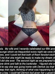 Cuckold, Caption, Interracial cuckold, Cuckold captions