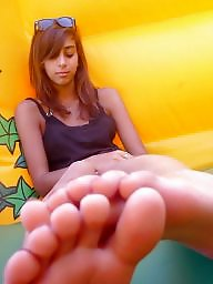 Femdom, Teen feet