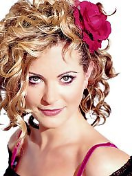 Blonde milf, British milf, British celebrity