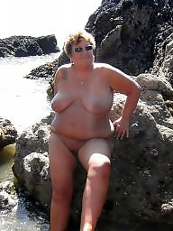 Nudist, Beach, Mature beach, Mature bbw, Nudists, Mature nudist