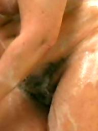 Moms, Mom, Matures, Hairy mom, Shower, Mature hairy