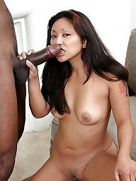 Lady, Asian interracial, Sexy lady