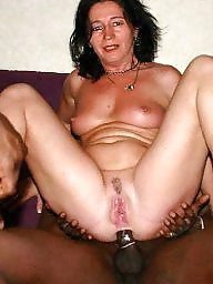 Mature interracial, Toys, Toy, Interracial mature