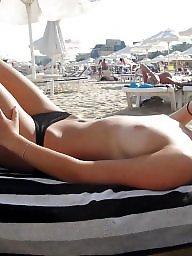 Topless, Nude beach