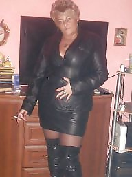 Leather, Upskirt, Sexy milf, Milf upskirt, Milf upskirts, Milf leather