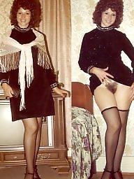 Retro, Vintage hairy, Stocking retro