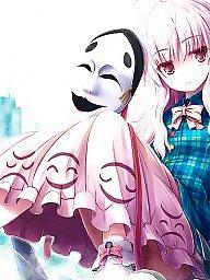 Funny cartoon, Mask, Animation, Girls