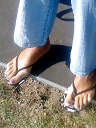 Feet, Candid, Milf feet, Candid feet