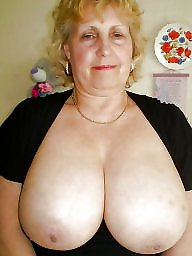 Mature bbw, Old bbw, Mature boobs, Old mature