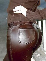 Leather, Milf ass